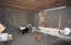 Sewing room in basement