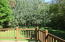 13 X 14 FT DECK WITH STIRS TO A LOVELY PRIVATE TREED BACK YARD