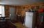 new propane fridge. door off dining to riverside deck.