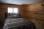 bedrooms are both carpeted.