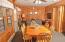Cabin 6 dining/livingroom