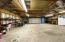 Double wide garage door makes for easy access.