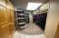 Walk-in storage on ground level