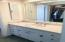 Master bath closet and dressing area.