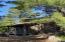 Custom-built white cedar log cabin on Lake Superior