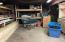 Basement storage area.