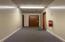 Hallway to second floor units (#2).