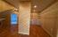 Walk in cedar lined closet