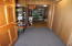 Pantry and storage area.