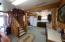 Mix of Knotty Pine Tongue & Groove Walls and Ceilings & Drywall Wall Throughout.