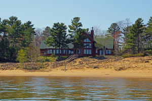 Gorgeous Waterfront Home on 200 Feet on Whitefish Bay