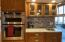 Newly Remodeled Kitchen with Convection Oven and Microwave Oven