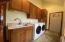 Large Main Floor Laundry room with Sink