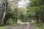 Entry circular drive near cabin