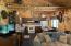 Cabin 2 kitchen/living room