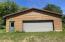 Cabin 1 garage