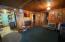 This 50s cottage exudes charm. Some hardwood floors under living room carpet