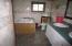 bathroom in trailer