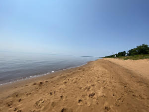 100 feet of water frontage on Lake Superior's Whitefish Bay