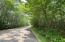 Paved road access on Bay Mills Point Rd. Natural gas available