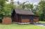 D-log cabin with many custom finishes