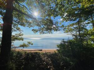 1.81 Acres with 214 Feet of Water frontage on Whitefish Bay