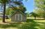 Second detached storage shed. 17'x20'. Has electrical service.