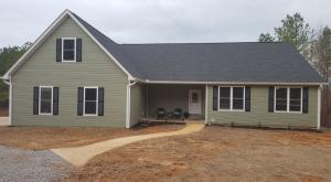 3 bedroom, 2.5 bath, 2400 sq ft home with an additional 1800 sq ft unfinished upstairs with electrical subservice, plumbing for a full bath and windows for bedrooms and/or play/living area.