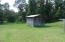 showing chicken house/storage shed