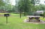 Grill and Picnic Table