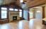Solid wood flooring and ceiling