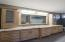 Granite counters and maple cabinets