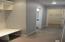 Rear Foyer Half bath & walk in closet