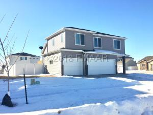 4Bedrooms, 3 baths and 3 garage stalls in a convenient West Fargo neighborhood!