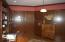 Beautiful Den with 1/4 sawn oak wood walls and floors, built in cabinetry