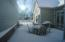 Private paver patio