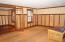rec room adjacent to the bedroom/flex room in lower level.