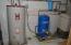 Water heater, well pump, water softener