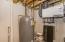 Marathon water heater, air exchanger, dual zone heat