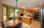 Kitchen with cozy dinette area