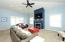 12' ceilings add to the charm of this space