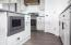 Custom Cabinets + In-Island Microwave