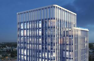Rendering of the Residential Condo units on the 15th, 16th and 17th floors.