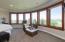 Same custom windows and living room below