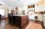 Large family style kitchen.