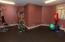 Personal fitness room.