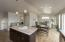 Custom Kitchen into Dining/living w/voice controlled lights(previous model)