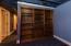 Den/office in basement - facing east