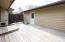 Rear of house/deck - facing garage