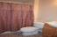 3/4 bath on lower level